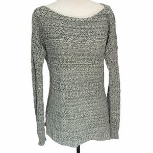 Anthropologie💕Ruby Moon Grey Sweater Size S